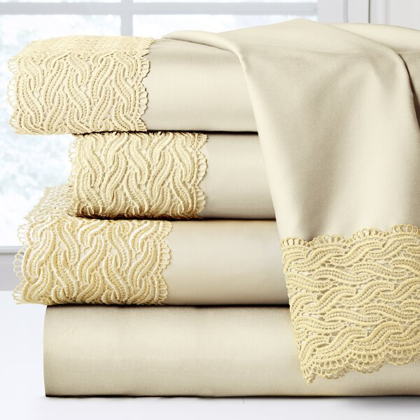 300 Thread Count 100% Cotton Sheet Set by Pointehaven